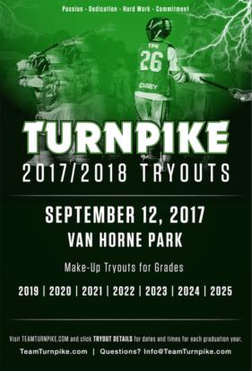 2017-2018 Team Turnpike Tryouts