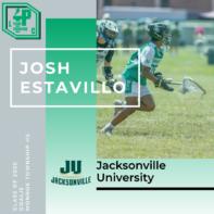 Josh Estavillo Class of 2020 Jacksonville University