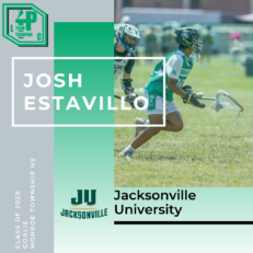 Josh Estavillo Class of 2020 Jacksonville University