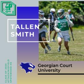 Tallen Smith Class of 2020 Georgian Court University