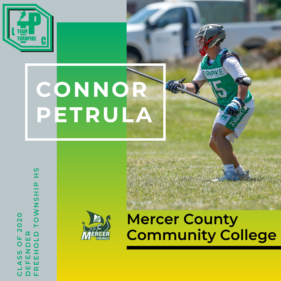 Connor Petrula Class of 2020 Mercer County Community College