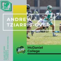 Andrew Tziarris-Over Class of 2020 McDaniel College