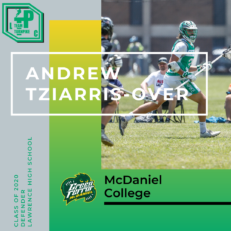 Andrew Tziarris-Over Class of 2020 McDaniel College