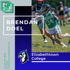 Brendan Doel Class of 2020 Elizabethtown College