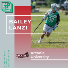 Bailey Lanzi Class of 2020 Arcadia University