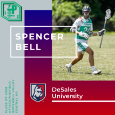 Spencer Bell Class of 2020 DeSales University