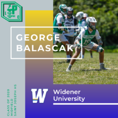 George Balascak Class of 2020 Widener University