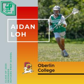 Aidan Loh Class of 2020 Oberlin College