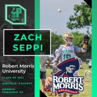 Zach Seppi Class of 2021 Robert Morris University