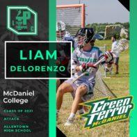 Liam Delorenzo Class of 2021 McDaniel College