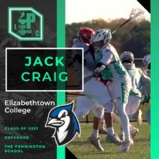 Jack Craig Class of 2021 Elizabethtown College