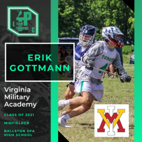 Erik Gottmann Class of 2021 Virginia Military Academy